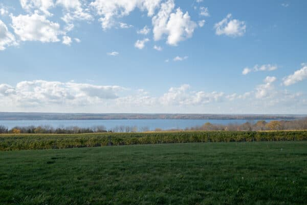 View from Boundary Breaks in Lodi New York