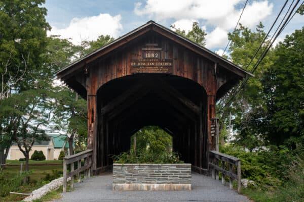 Fox Creek Covered Bridge in Schoharie NY