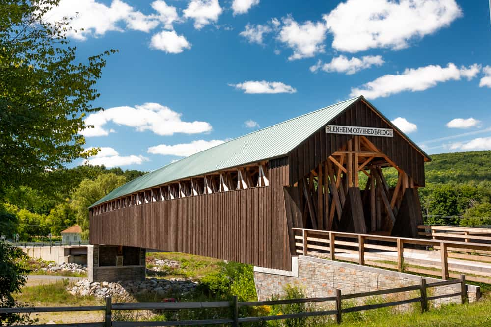 Blenheim Covered Bridge in Schoharie County, New York