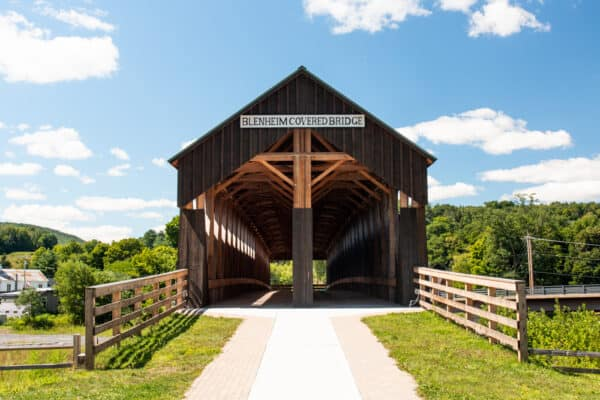 Blenheim Covered Bridge in Schoharie County, NY