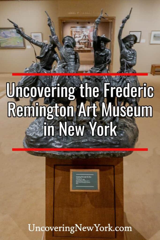 Frederic Remington Art Museum in Ogdensburg, New York