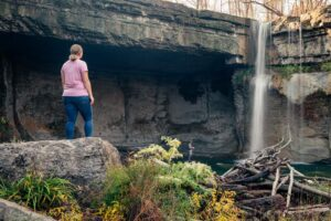 How to Get to Ludlowville Falls Near Ithaca, New York