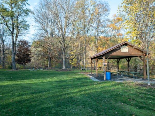 Ludlowville Park in Lansing, New York