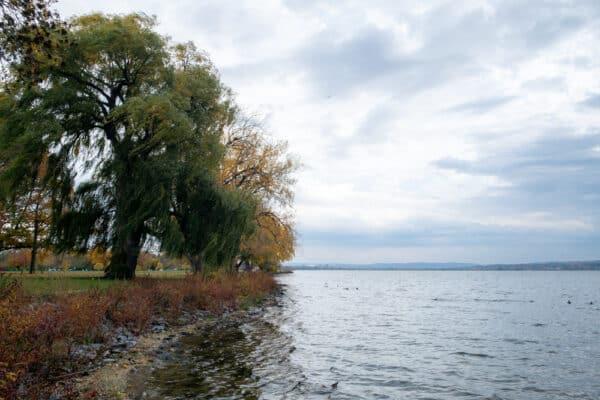 Shores of Onondaga Lake Park in Syracuse NY