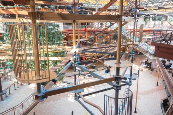 Ropes Course at WonderWorks in Syracuse New York