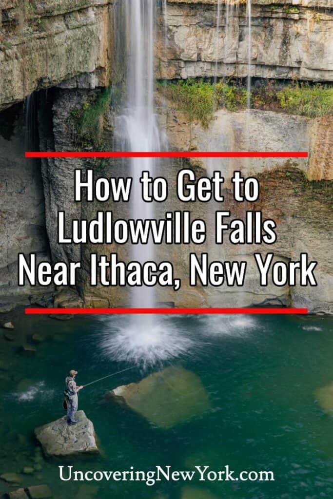 Ludlowville Falls near Ithaca, New York
