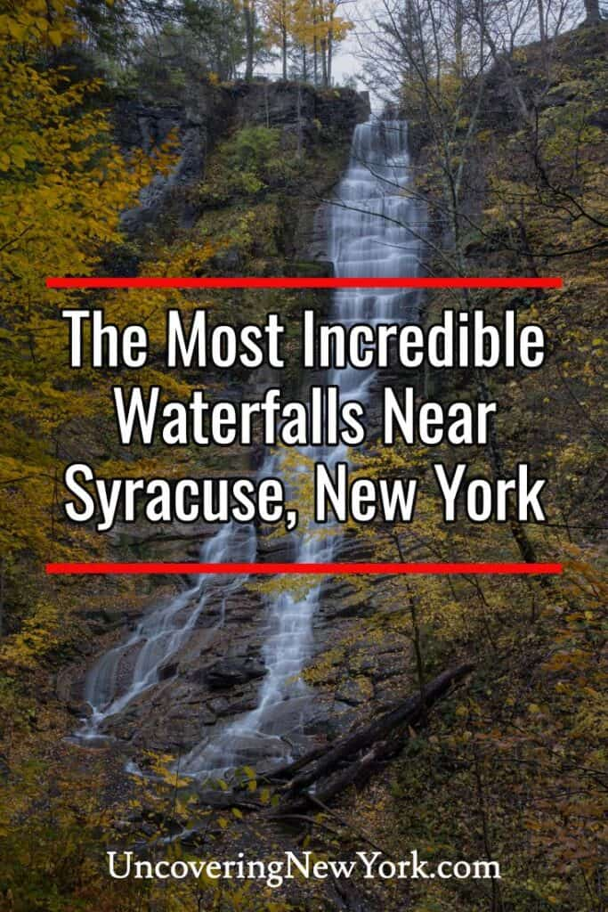 Waterfalls near Syracuse New York