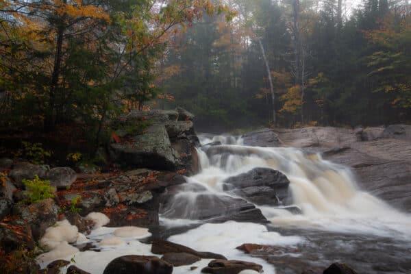 Dunkley Falls in Warren County NY