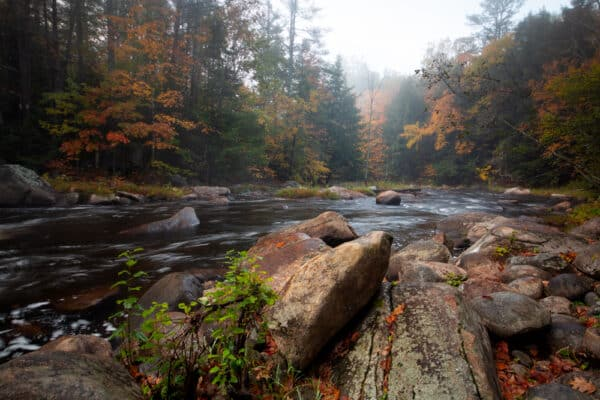 Mill Creek near the Hudson River in the Adirondacks
