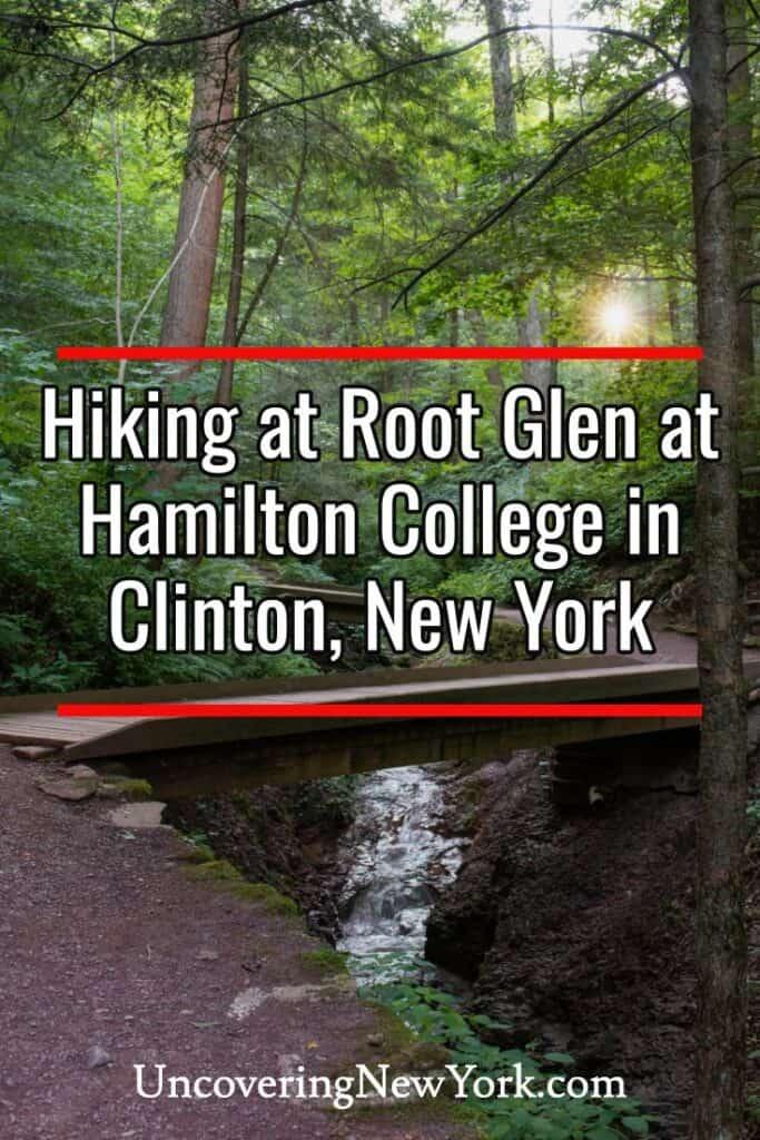 Root Glen at Hamilton College in Clinton New York