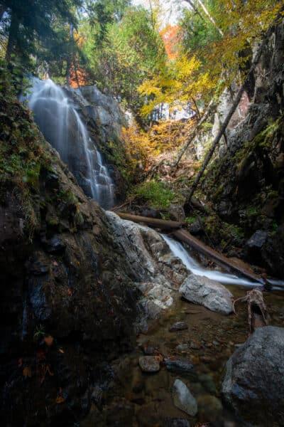 Stag Brook Falls in the Adirondacks