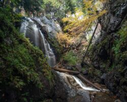 How to Get to Stag Brook Falls at Whiteface Mountain Ski Resort in Lake Placid