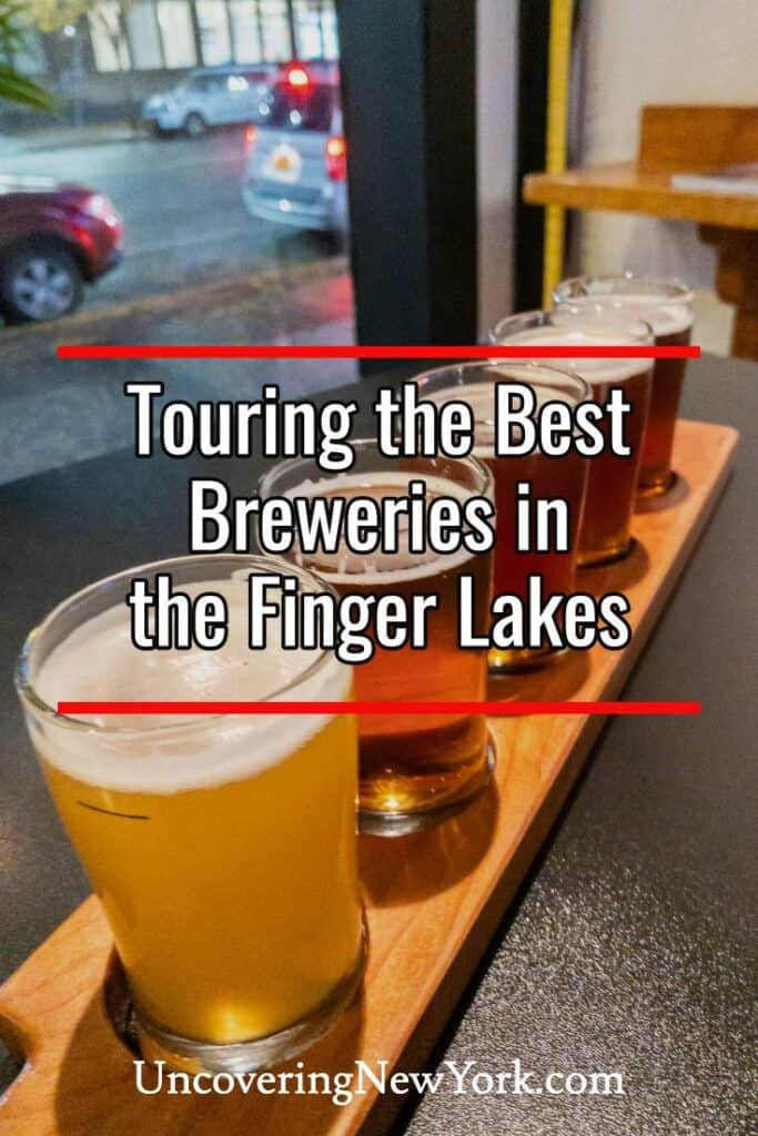 The best breweries in the Finger Lakes