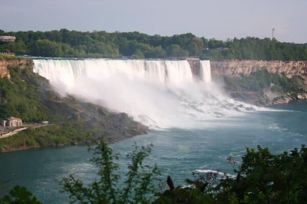 American Falls from the Canadian side of Niagara Falls