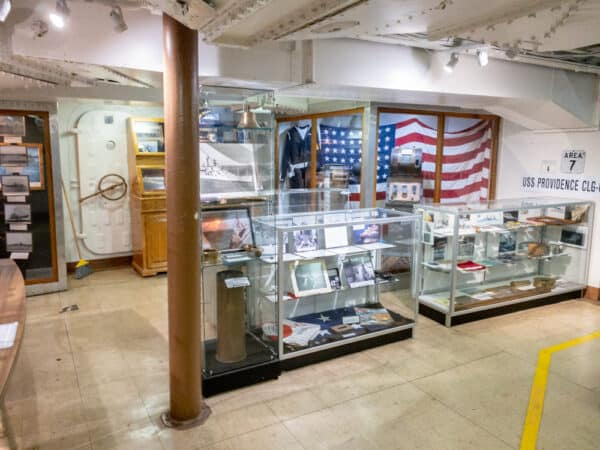 Museum at the USS Little Rock at the Buffalo Naval Park in NY