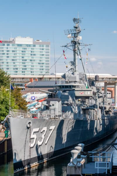 USS The Sullivans at the Buffalo Naval Park in New York