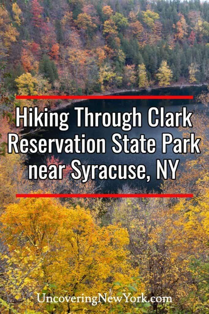 Clark Reservation State Park near Syracuse, New York