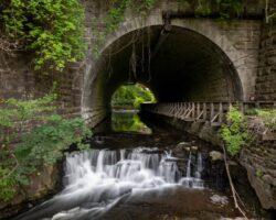 Hiking Through Corbett's Glen Nature Park Near Rochester