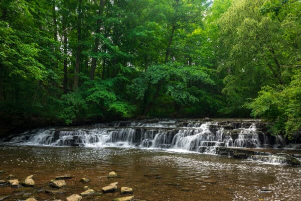 Postcard Falls near Rochester NY