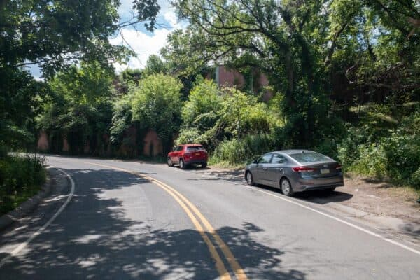 Parking for Corbett's Glen Nature Park in Rochester NY