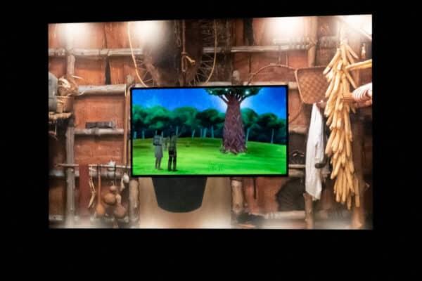 Iroquois creation story video at Ganondagan near Rochester NY