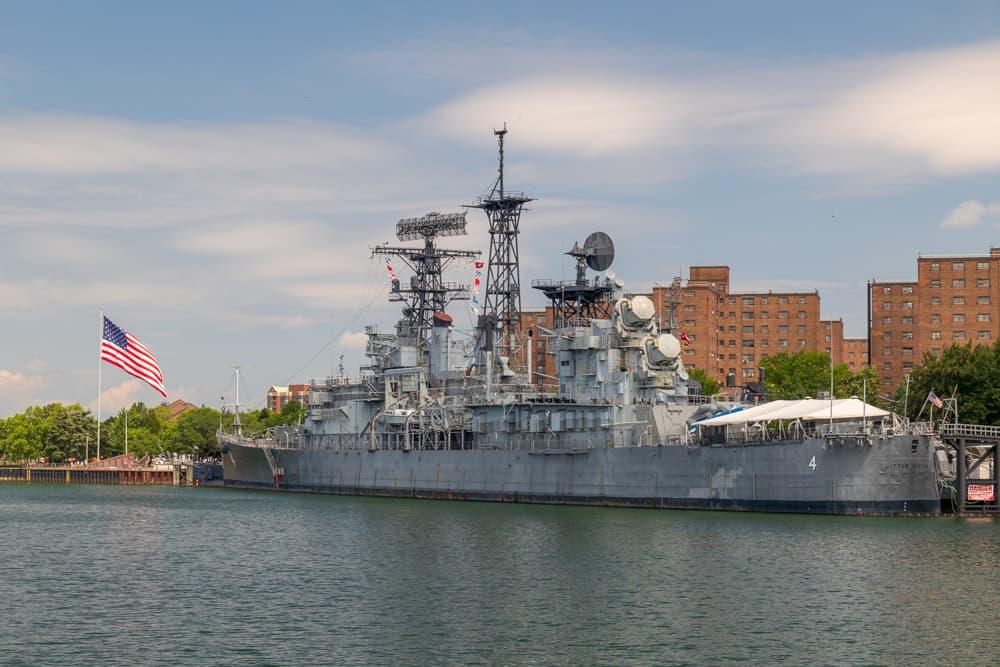 USS Little Rock in the Buffalo Naval Park