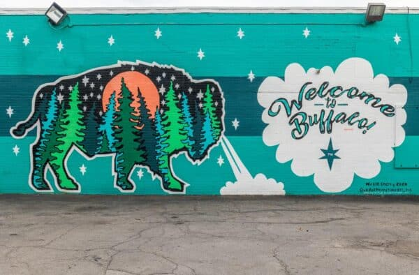 Welcome to Buffalo Mural in Buffalo New York