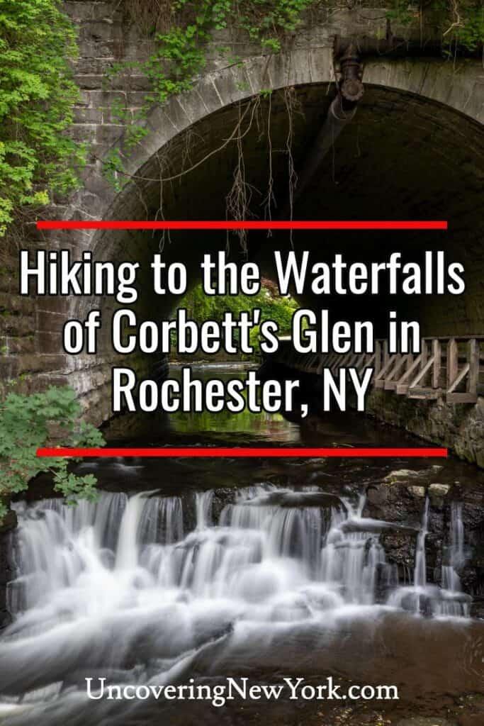 Corbett's Glen Nature Park in Rochester New York