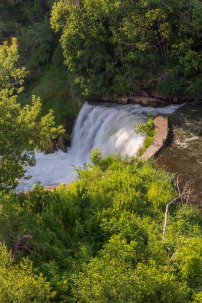Medina Falls in northwestern New York