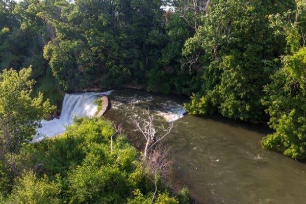 Medina Falls in Orleans County NY