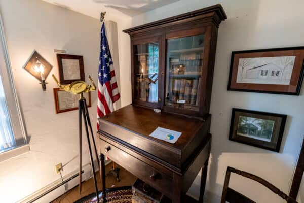 Millard Fillmore Law Desk near Buffalo New York