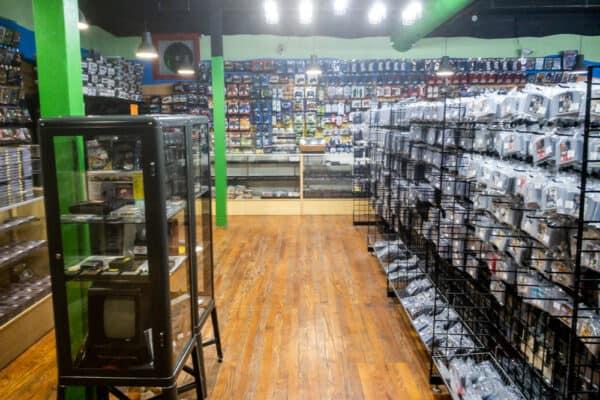 Inside Robot City Games in Binghamton NY