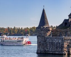 Cruising the St. Lawrence River with Uncle Sam Boat Tours