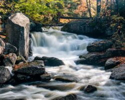 How to Get to Whiskey Brook Falls in Speculator, New York
