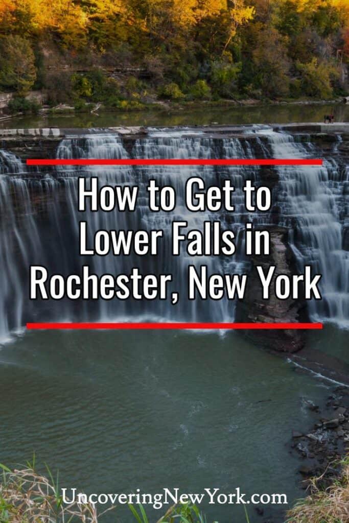 Lower Falls in Rochester New York