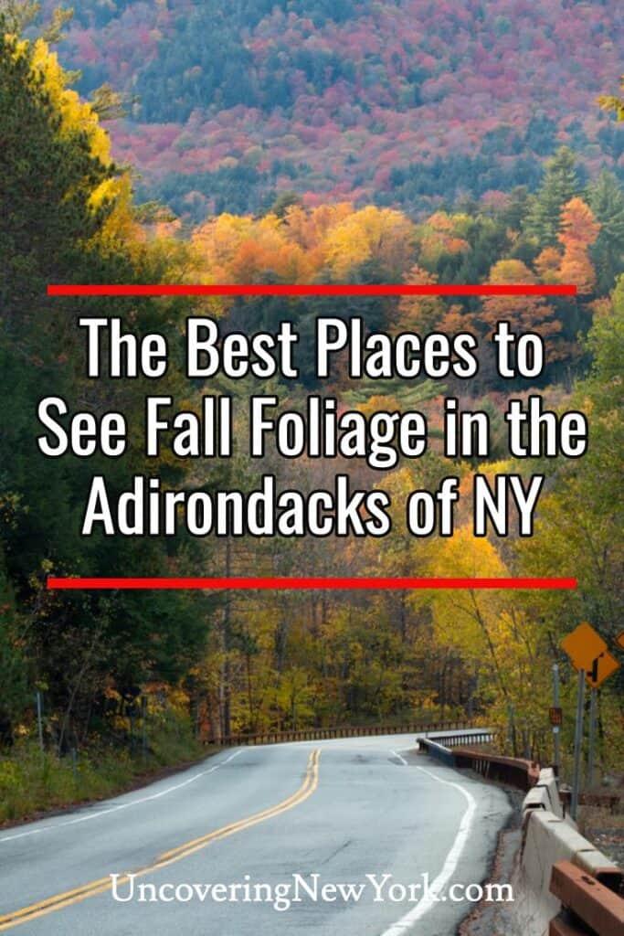 Fall Foliage in the Adirondacks of New York