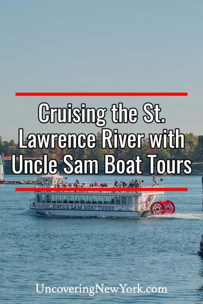 Uncle Sam Boat Tours