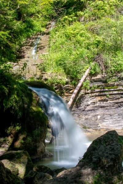 Creamery Falls in Van Hornesville New York