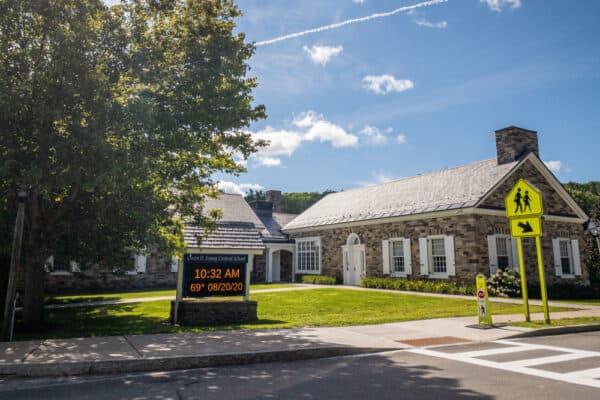 Owen D Young Central School in Van Hornesville, New York